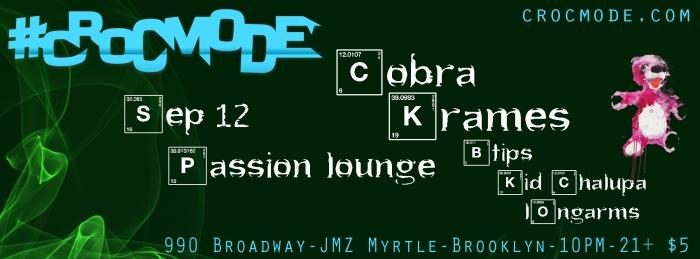 Croc Mode - Brooklyn with COBRA KRAMES