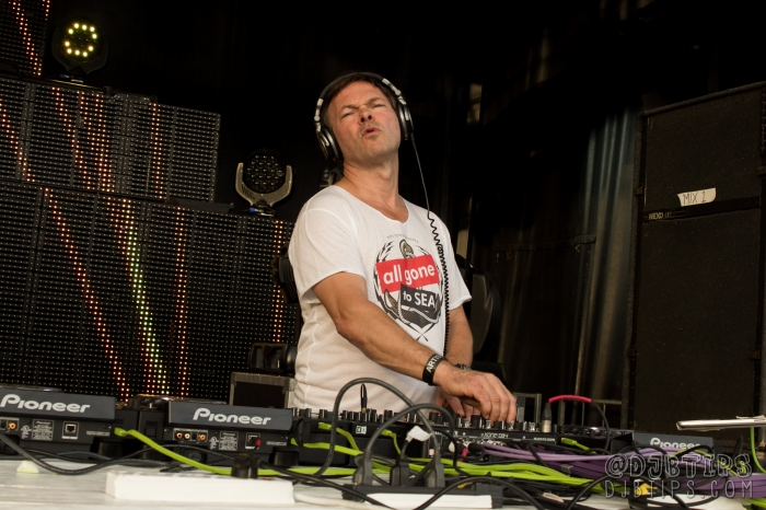 Pete Tong in Detroit at the Movement Festival